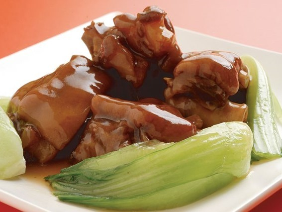 紅焼猪脚 豚足の醤油煮 ¥399(税込419)