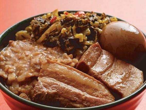 魯肉飯 台湾風肉丼 ¥476(税込¥500)
