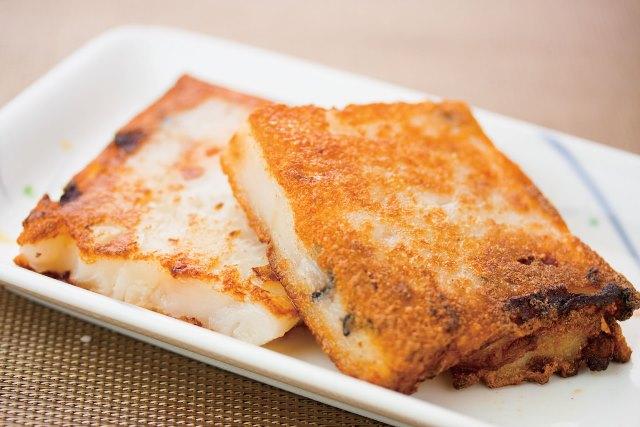 煎羅蔔米羔 大根もち ¥399(税込¥419)