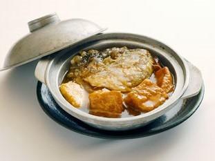 香港式魚のかま鍋 1、575円