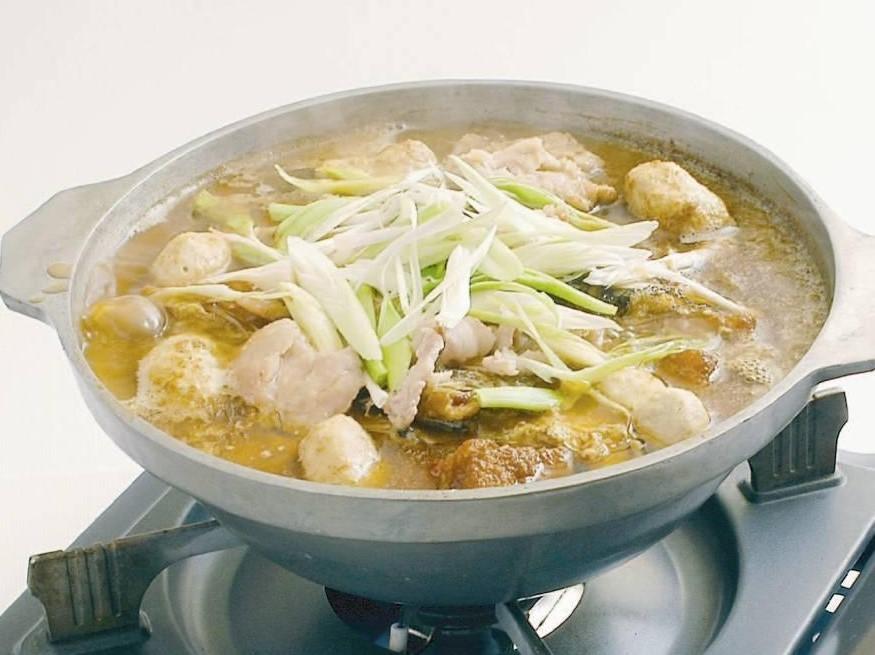 台湾風鯛のあら入り鍋 (沙茶醤ベース) 5、250円